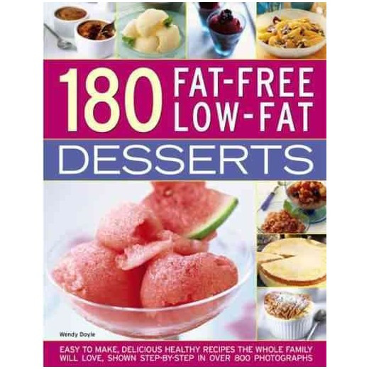 Low Cholesterol Desserts Store Bought  180 Fat free Low fat Desserts Easy to Make Delicious