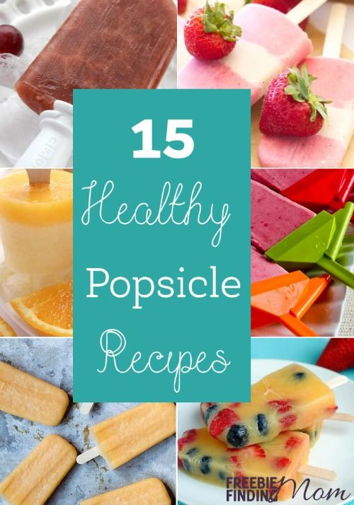 Low Cholesterol Desserts Store Bought  15 Healthy Popsicle Recipes