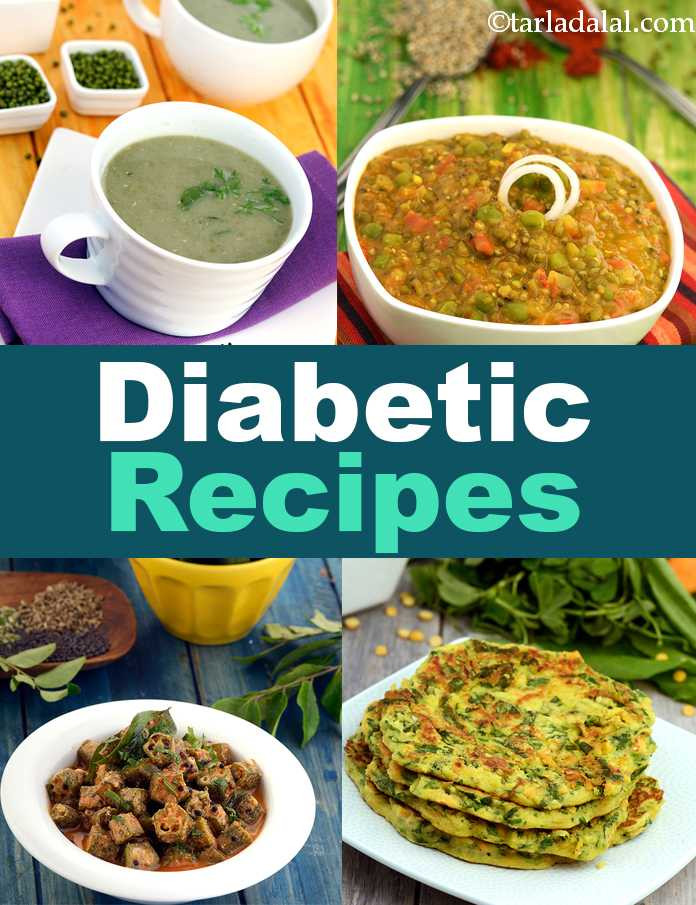 Low Cholesterol Diabetic Recipes  Indian Recipes For Diabetics And High Cholesterol