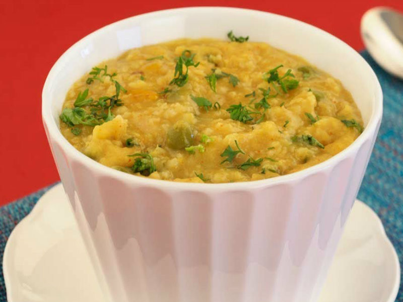 Low Cholesterol Diabetic Recipes  Whole Wheat And Ve able Khichdi Diabetic friendly And