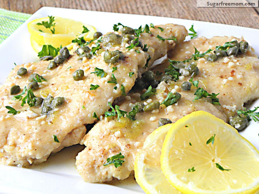Low Cholesterol Dinner Recipes  Low Fat Chicken Piccata [Gluten Free]