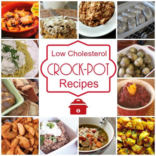 Low Cholesterol Food Recipes  40 Low Cholesterol Crock Pot Recipes Crock Pot La s