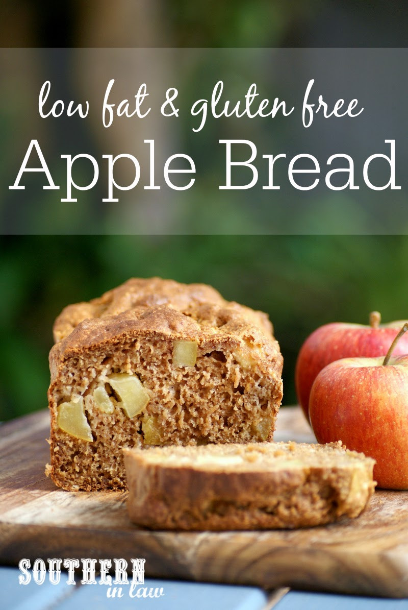 Low Cholesterol Low Sugar Recipes  Southern In Law Recipe Healthy Apple Bread