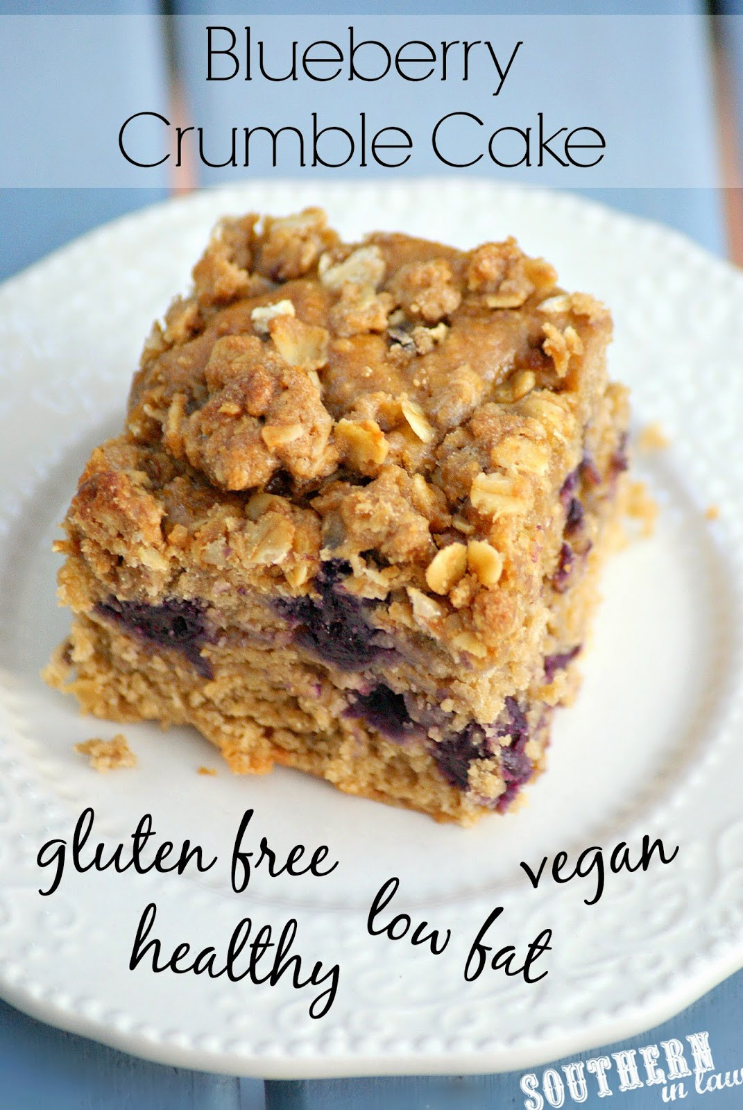 Low Cholesterol Low Sugar Recipes  Southern In Law Recipe Healthy Blueberry Crumble Cake