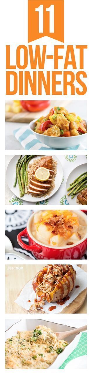 Low Cholesterol Recipes For Dinner  100 Low Fat Dinner Recipes on Pinterest