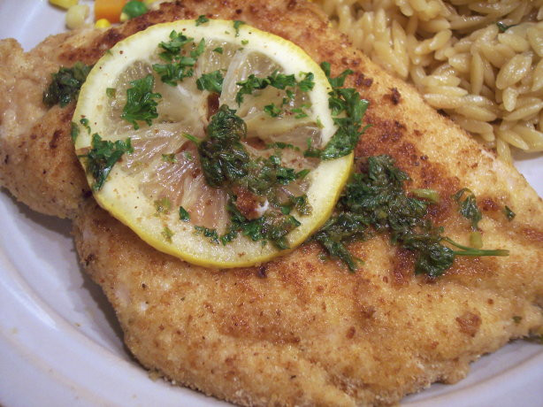 Low Cholesterol Recipes With Chicken  Chicken Scaloppine With Lemon Glaze Low Fat And Delicious