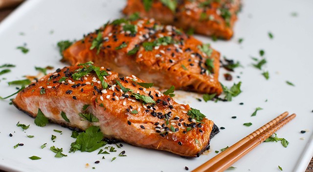Low Cholesterol Salmon Recipes  4 foods to lower cholesterol – Healthy Food For Thought