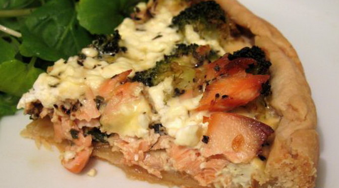 Low Cholesterol Salmon Recipes  Low Fat Salmon and Broccoli Quiche