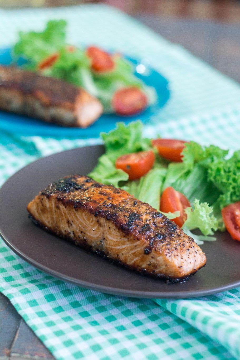 Low Cholesterol Salmon Recipes  Simple Caramelized Salmon Recipe Maya Kitchenette
