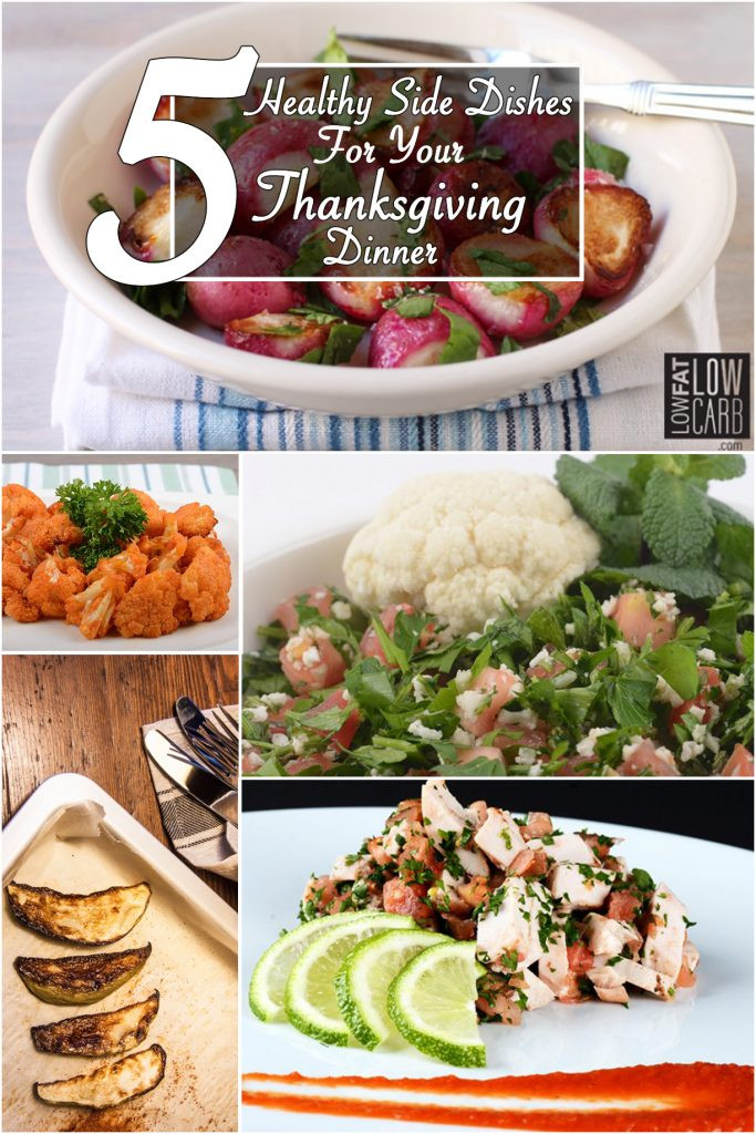 Low Cholesterol Side Dishes  5 Healthy Side Dishes for Your Thanksgiving Dinner Low