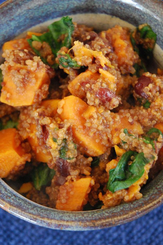 Low Cholesterol Side Dishes  Kitchen Scoop Quinoa Makes a Great Low Fat Side Dish