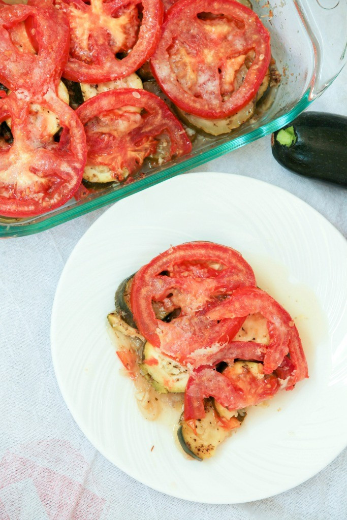 Low Cholesterol Side Dishes  Zucchini Tomato Casserole Ve arian Low Calorie Food