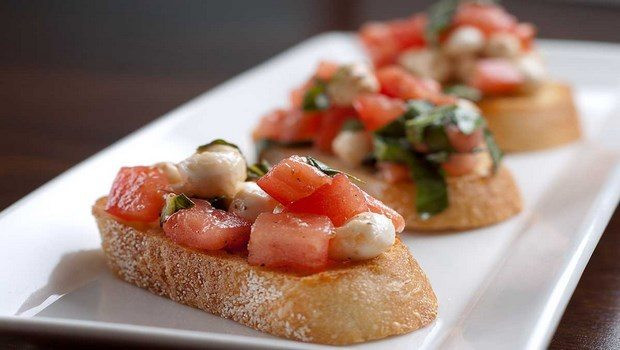 Low Fat Appetizers  6 low fat recipes to lose weight with full of nutrients