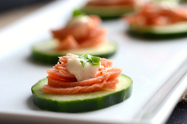Low Fat Appetizers  3 New Year s appetizers under 100 calories