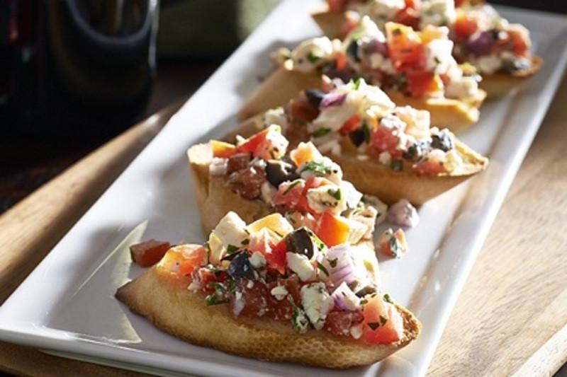Low Fat Appetizers  Bruschetta Appetizers Recipe by Recipe CookEat