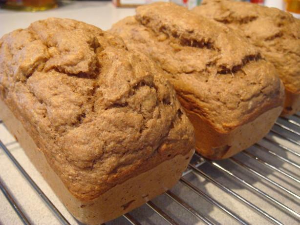 Low Fat Banana Bread  Low Fat Stevia Banana Bread Recipe Baking Food