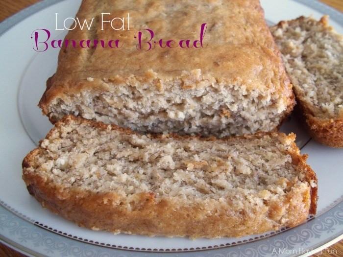 Low Fat Banana Recipes  Homemade Low Fat Banana Bread Recipe