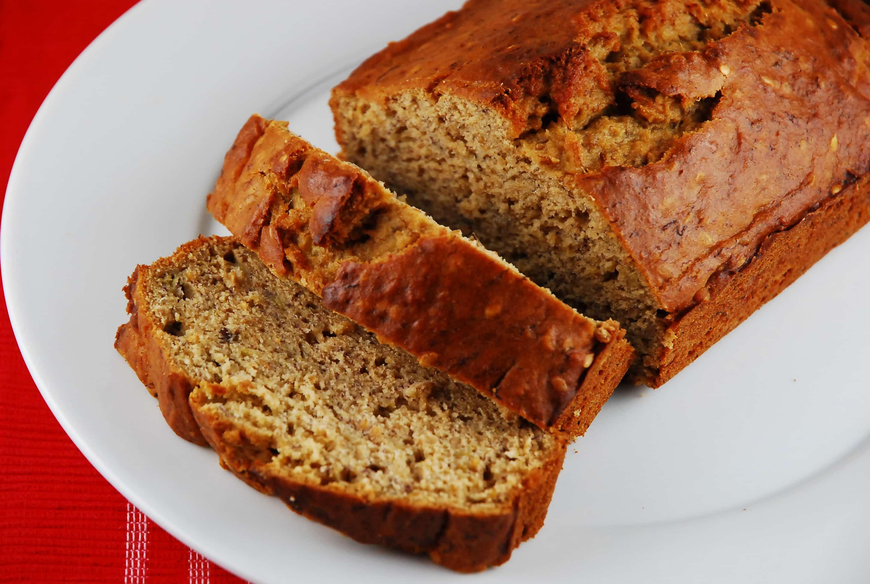 Low Fat Banana Recipes  Low Fat Banana Bread Recipe 4 Points LaaLoosh