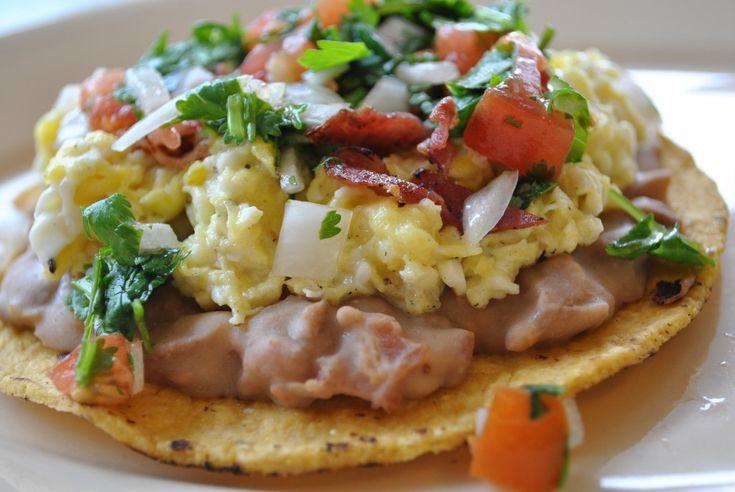 Low Fat Breakfast Meat  BREAKFAST TOSTADA Green eggs and ham