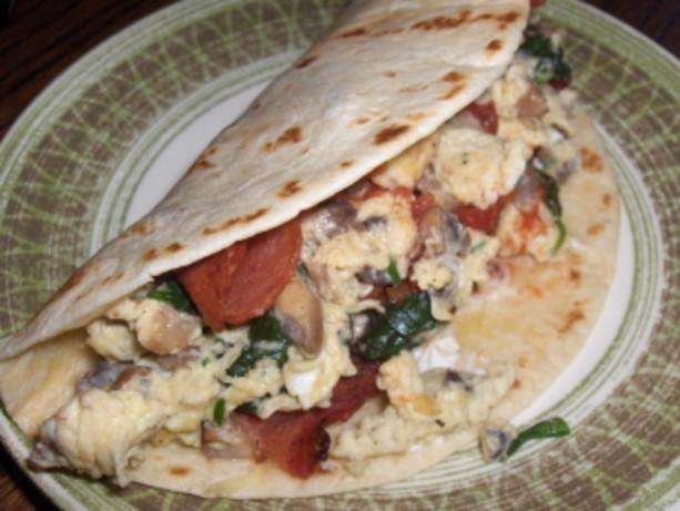 Low Fat Breakfast Meat  Low Fat Breakfast Wraps Recipe Food