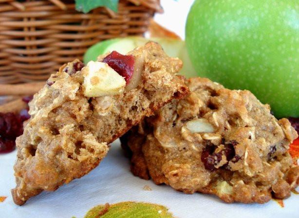 Low Fat Breakfast Meat  Low Fat Apple Cranberry Breakfast Cookies Recipe Food