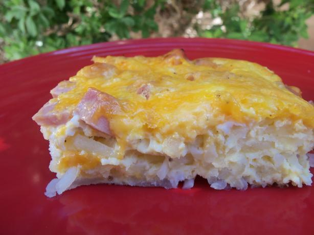 Low Fat Breakfast Meat  Low Fat Egg And Ham Breakfast Casserole Recipe Food
