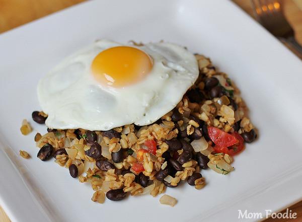 Low Fat Breakfast Meat  High Protein – Lowfat Breakfast Recipe Egg over Spicy