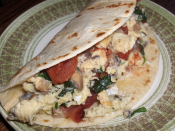 Low Fat Breakfast Recipes  Low Fat Breakfast Wraps Recipe Food