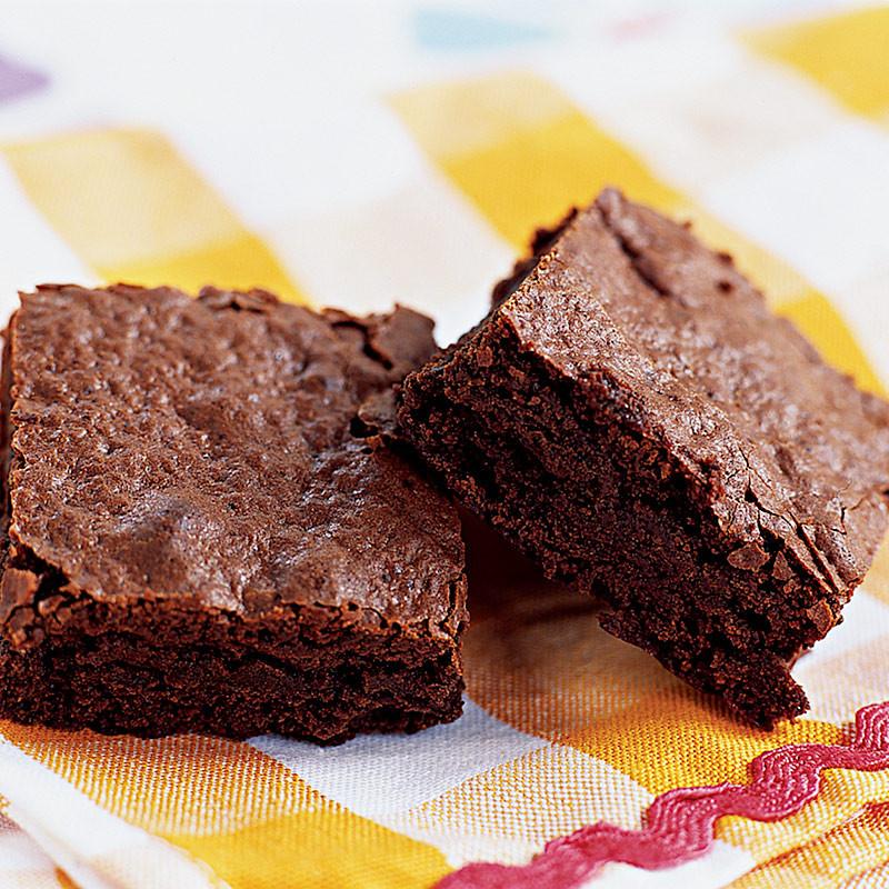 Low Fat Brownies  Fudgy Low Fat Brownies
