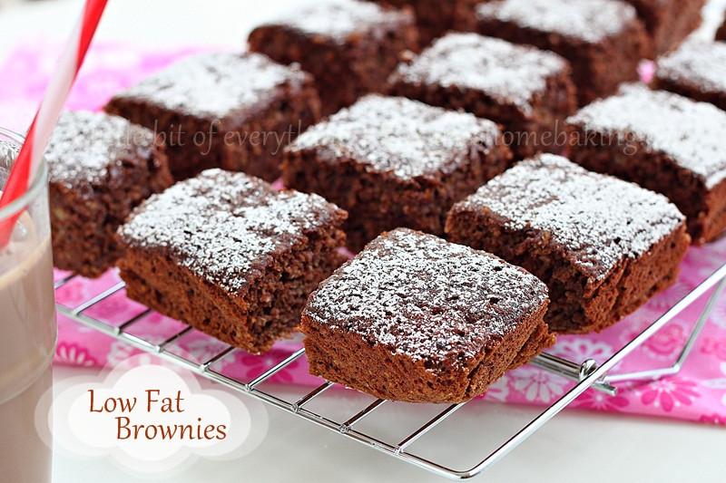 Low Fat Brownies  Low Fat Brownies Skinny Chocolate Cake Brownies