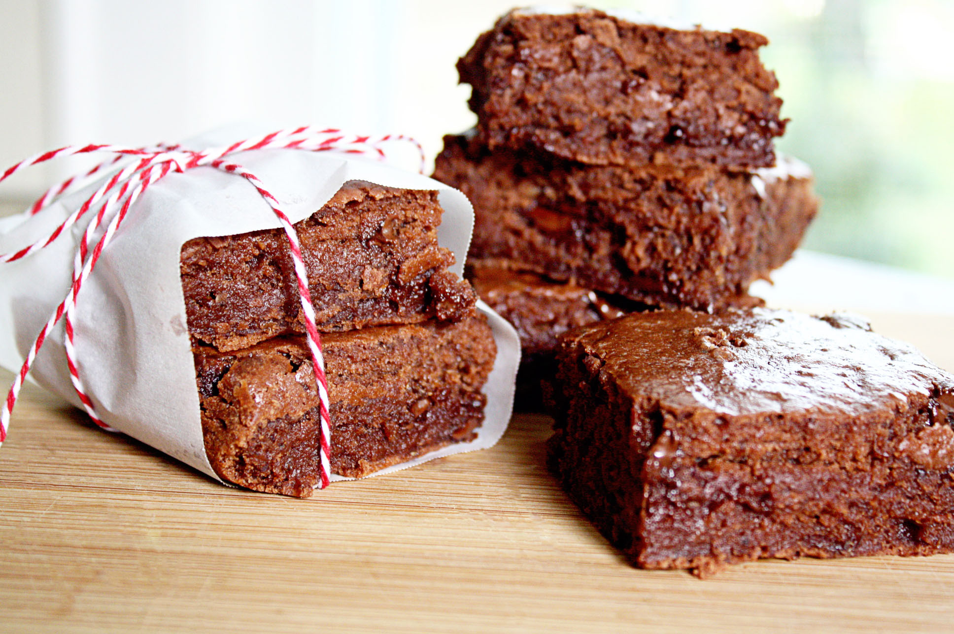 Low Fat Brownies  low fat almost no fat fudge brownies • Steele House Kitchen