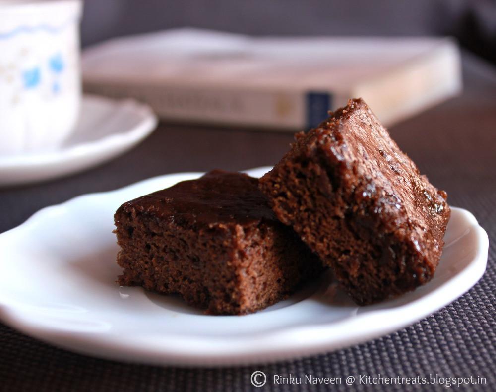 Low Fat Brownies  Rinku s Kitchen Treats Low Fat Brownies