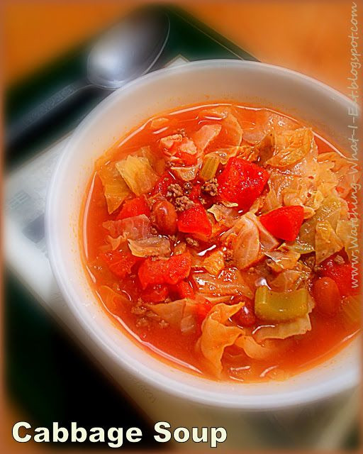 Low Fat Cabbage Recipes  easy cabbage soup my grandma s old family recipe with