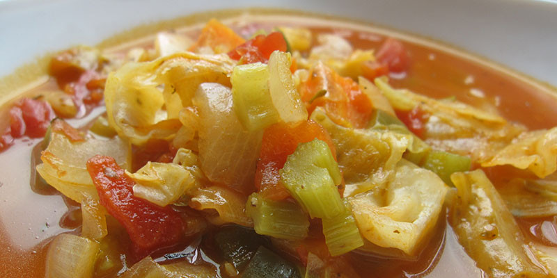 Low Fat Cabbage Recipes  Low Carb Spicy Cabbage Stew