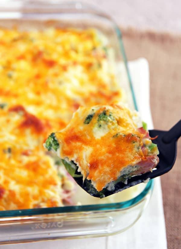 Low Fat Cauliflower Recipes  low calorie cauliflower casserole
