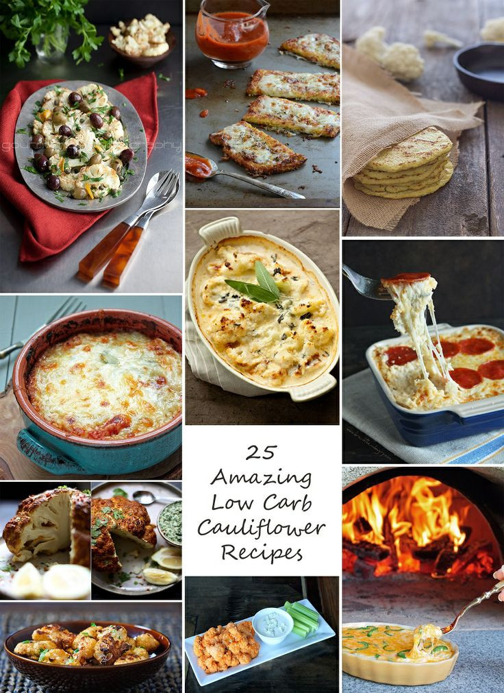 Low Fat Cauliflower Recipes  1000 images about Low carb on Pinterest