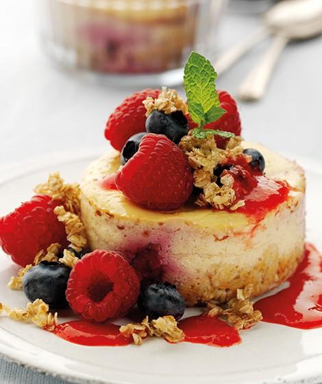 Low Fat Cheesecake Recipe  Low Fat Vanilla & Raspberry Cheesecake Recipe