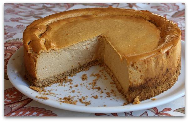 Low Fat Cheesecake Recipe  Low Fat Pumpkin Cheesecake