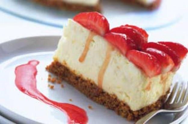 Low Fat Cheesecake Recipe  Low fat strawberry cheesecake recipe goodtoknow