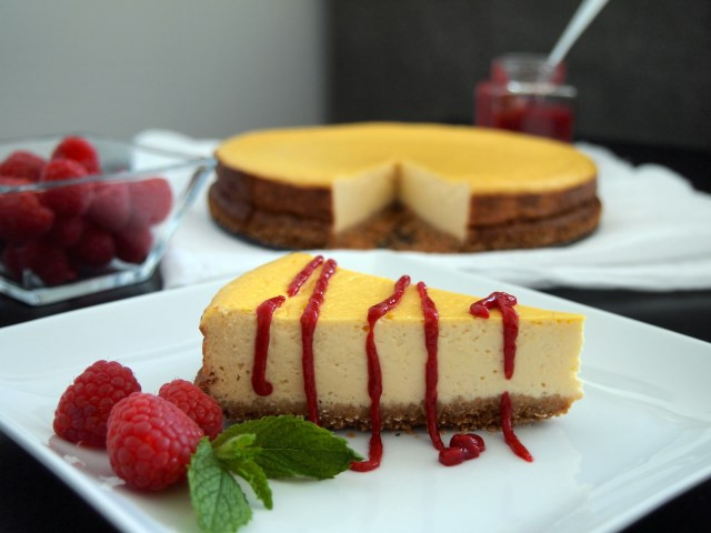 Low Fat Cheesecake Recipe  The Best Low Fat Cheesecake EVER