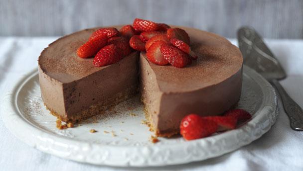 Low Fat Cheesecake Recipe  BBC Food Quark recipes