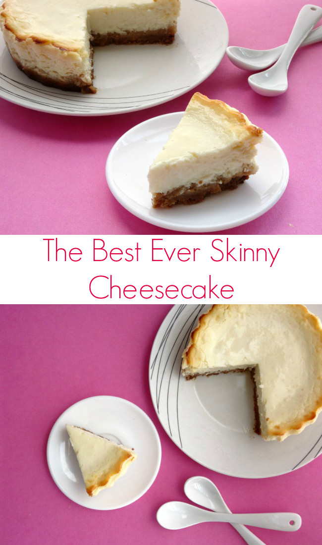 Low Fat Cheesecake Recipe  Best 25 Low fat cheesecake ideas on Pinterest