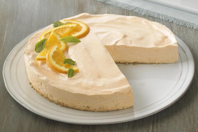 Low Fat Cheesecake Recipe  Low Fat Orange Dream Cheesecake Receta ida Kraft