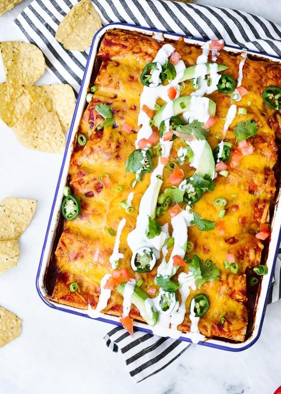 Low Fat Chicken Enchiladas Weight Watchers  Chicken Enchilada Recipe