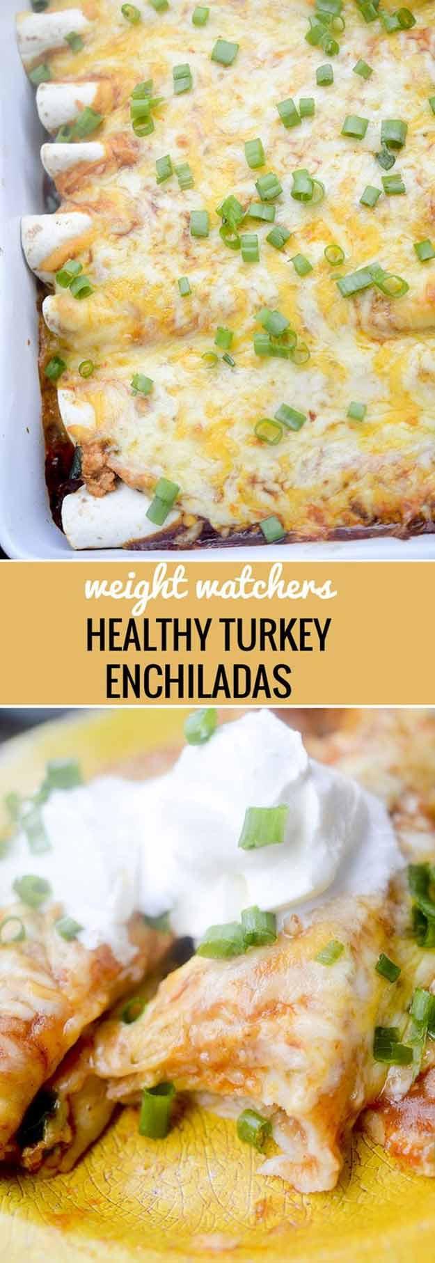 Low Fat Chicken Enchiladas Weight Watchers  38 More Healthy Dinner Recipes The Goddess