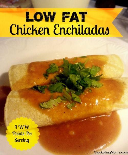 Low Fat Chicken Enchiladas Weight Watchers  Low Fat Chicken Enchiladas Recipe