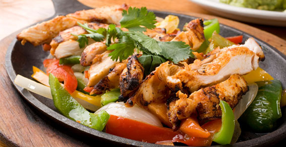 Low Fat Chicken Fajitas  America s Most Wanted Recipes At the Grill Chili s Low