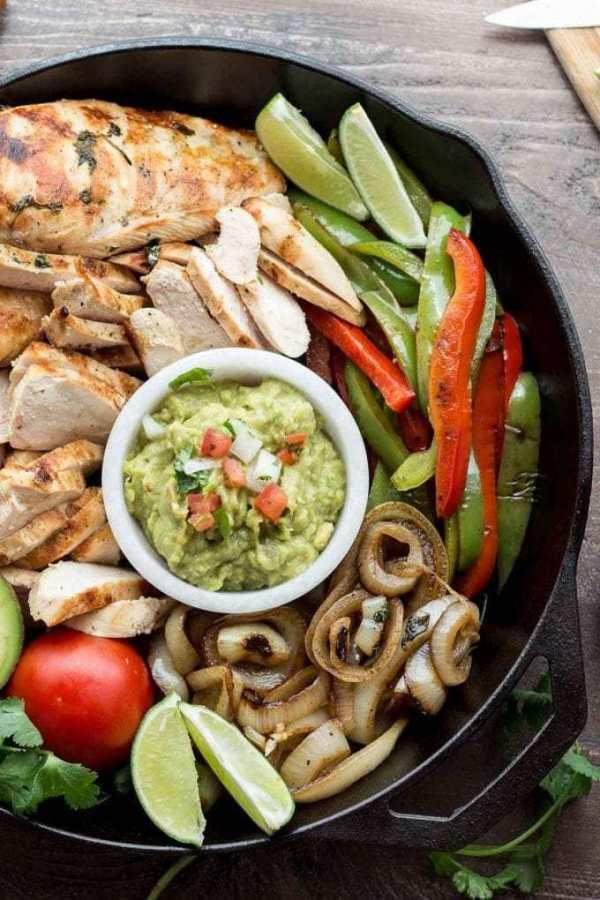 Low Fat Chicken Fajitas  Authentic Chicken Fajitas