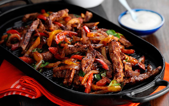 Low Fat Chicken Fajitas  Beef fajitas recipe goodtoknow