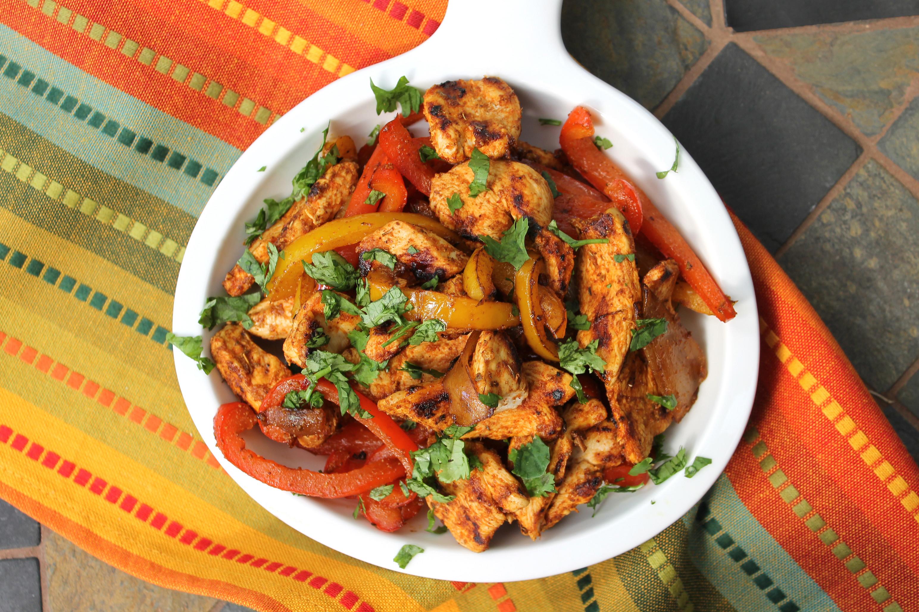 Low Fat Chicken Fajitas  40 Healthy Chicken Recipes For The Entire Family